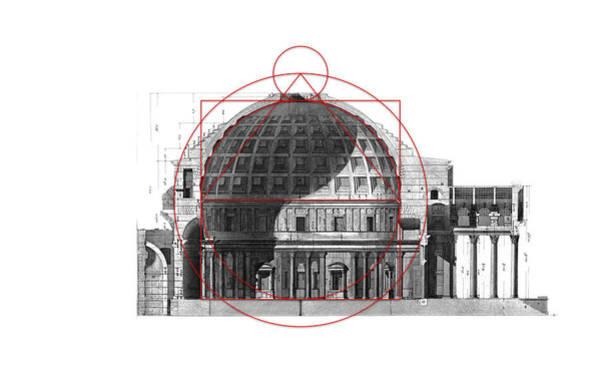 Digital Art - Pantheon's Patterns by Scott Onstott