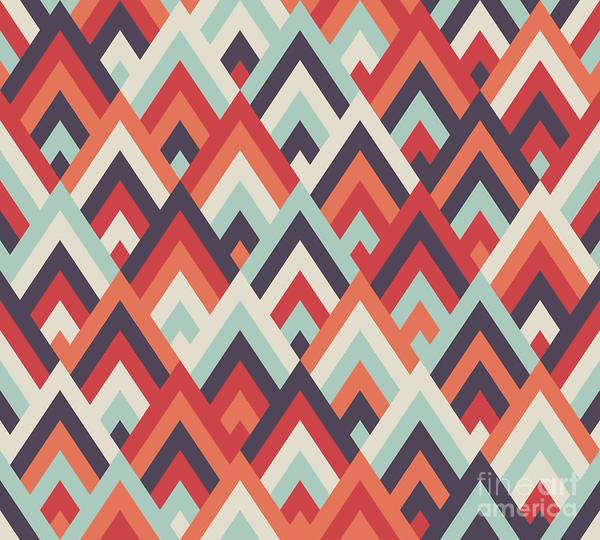 Wall Art - Pyrography - Pantone Mountains by Mark Ashkenazi