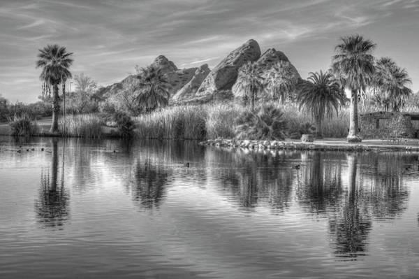 Photograph - Papago Park 8092-010304 by Tam Ryan