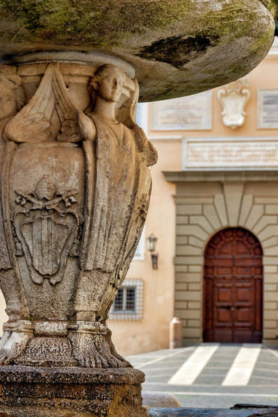 Photograph - Papal Coat Of Arms  by Fabrizio Troiani