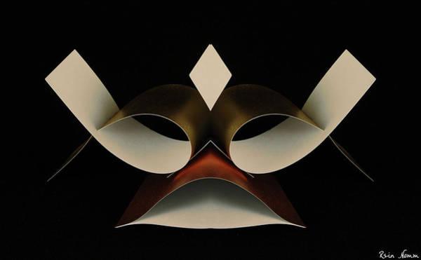Sculpture - Paper Warrior by Rein Nomm