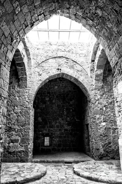 Wall Art - Photograph - Paphos Castle Dungeon Cyprus by John Rizzuto
