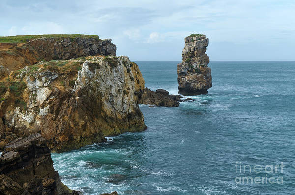 Photograph - Papoa Cliffs And Sea In Peniche by Angelo DeVal