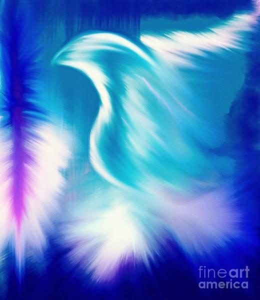 Mixed Media - Paraclete by Jessica Eli