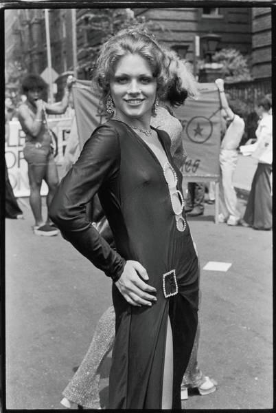 Photograph - Parade Portrait by Fred W. McDarrah