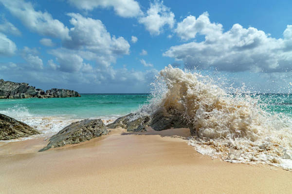 Wall Art - Photograph - Paradise Beach Splash by Betsy Knapp