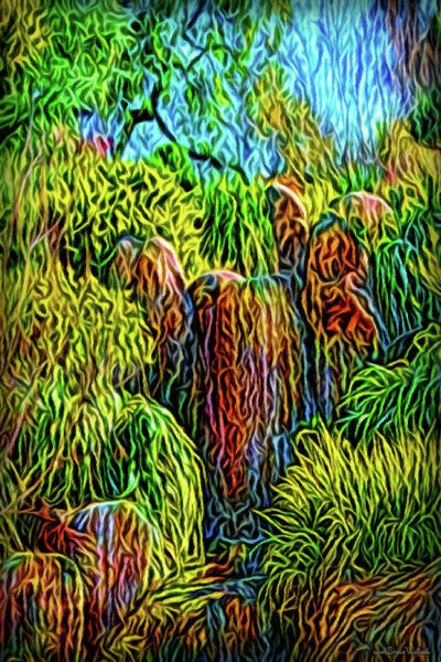 Digital Art - Paradise Dreamtime by Joel Bruce Wallach