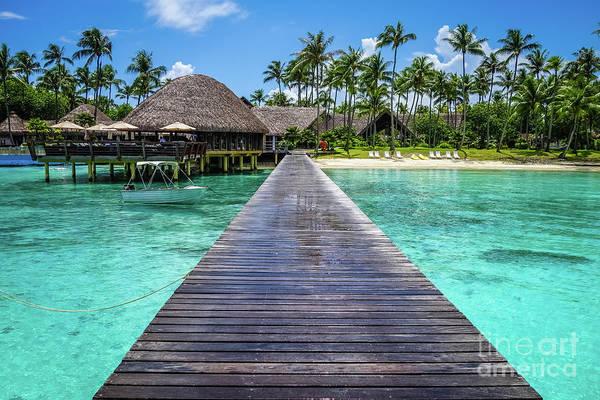 Photograph - Rangiroa, Tuamotu - Paradise On Earth by Lyl Dil Creations