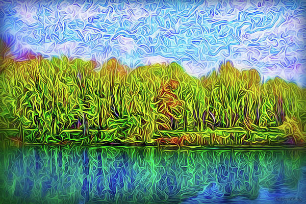 Digital Art - Paradise Reflections by Joel Bruce Wallach