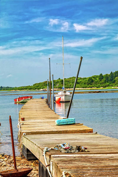 Goat Rocks Wall Art - Photograph - Paradise Sailing Day In Maine by Betsy Knapp