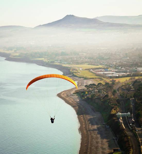 Skill Photograph - Paragliding Off Killiney Hill by David Soanes Photography
