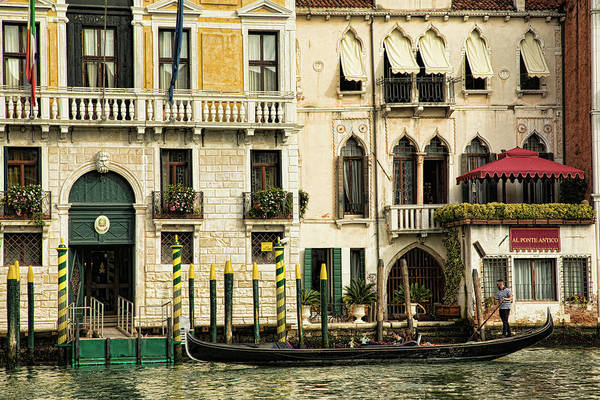 Photograph - Parallel Parking In Venice by Mary Buck