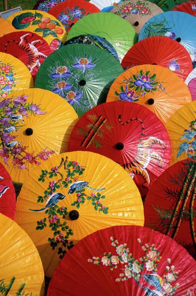 Parasols Art Print by Buena Vista Images