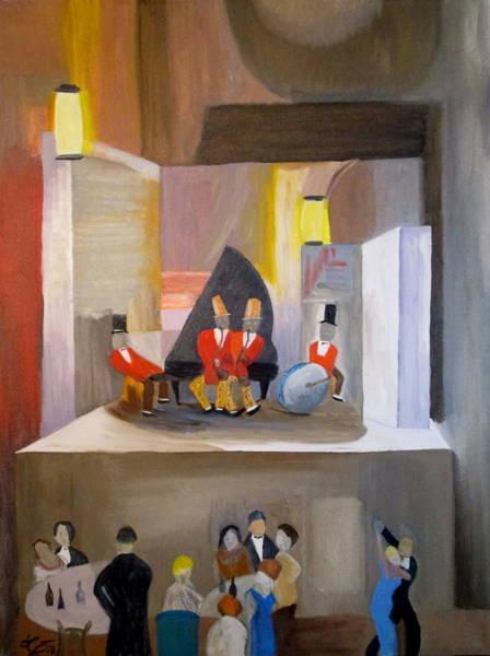 Sax Painting - Paris 1935 by Bill OConnor