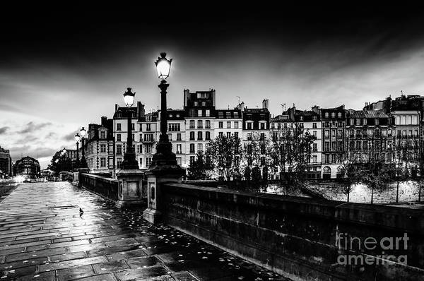 Photograph - Paris At Night - Pont Neuf by Miles Whittingham