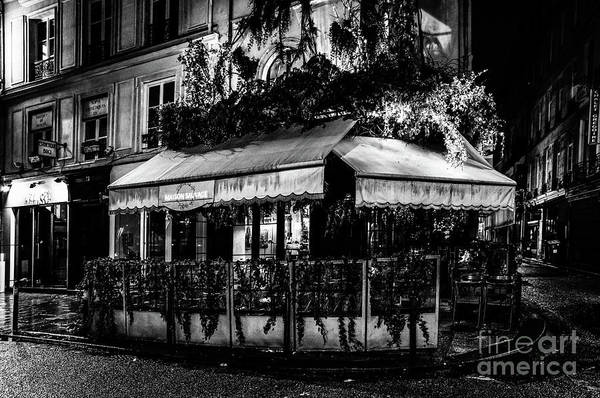 Photograph - Paris At Night - Rue De Buci by Miles Whittingham