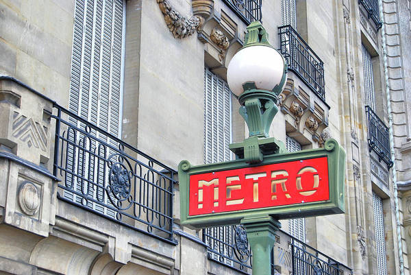 Photograph - Paris By Train by JAMART Photography