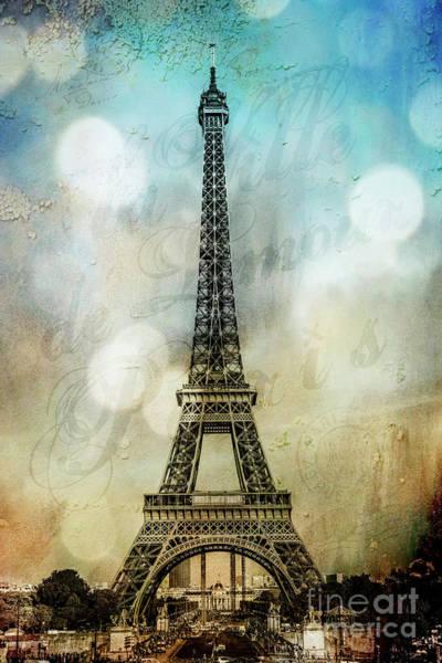 Wall Art - Photograph - Paris City Of Love by Stacey Granger