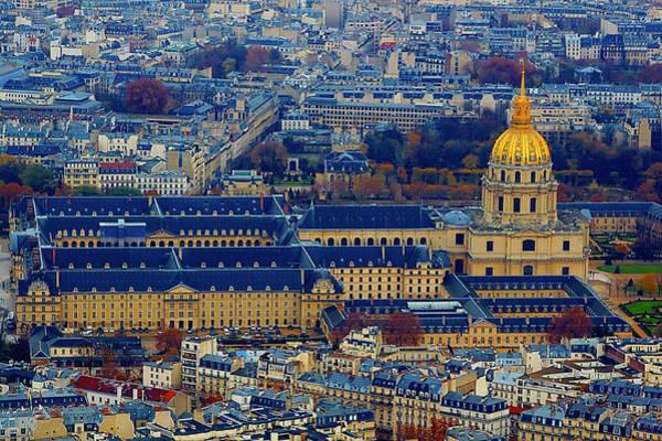 Invalides Photograph - Paris Cityscape by Dhwee