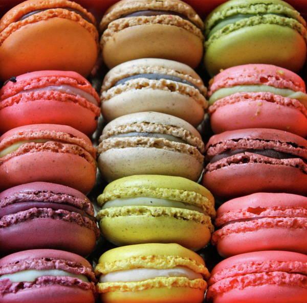 Photograph - Paris Colorful Macaroons by Abbietabbie