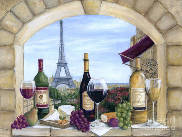 Wall Art - Painting - Paris Delights by Marilyn Dunlap
