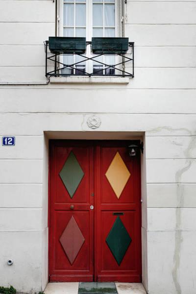 Photograph - Paris Diamond Door by Georgia Fowler