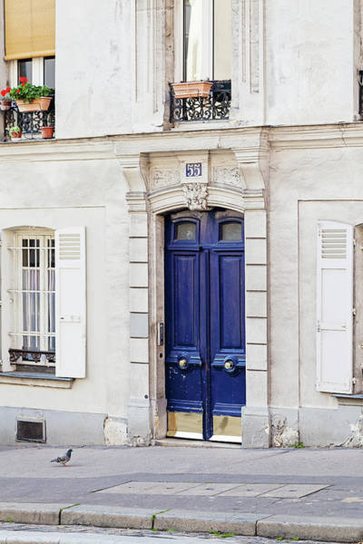 Wall Art - Photograph - Paris Doors No. 55 by Melanie Alexandra Price