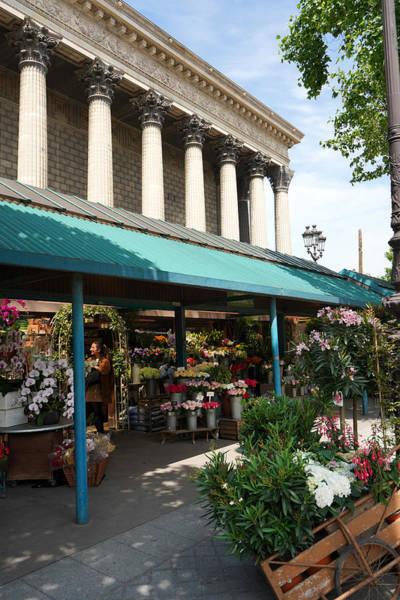 Photograph - Paris Flower Vendor by Andrew Fare