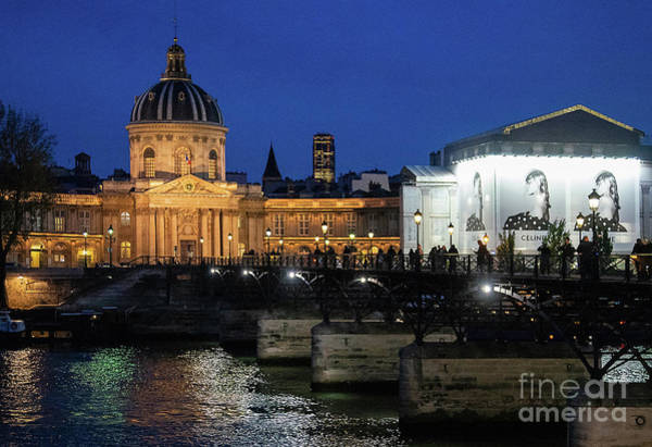 Wall Art - Photograph - Paris France Nightscapes by Wayne Moran
