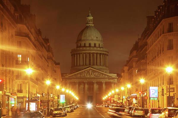 Pantheon Wall Art - Photograph - Paris Pantheon by David Bank