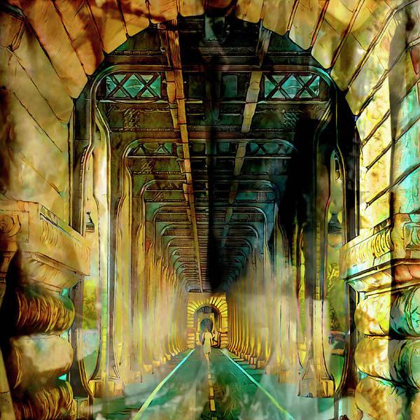 Mixed Media - Paris Passage by Bellanda