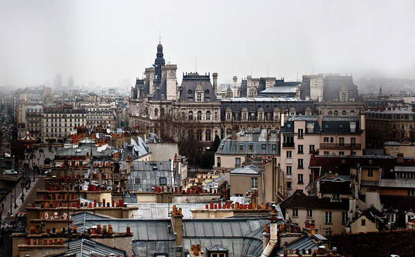 Paris Rooftop Photograph - Paris by Photography By Christina Nelson