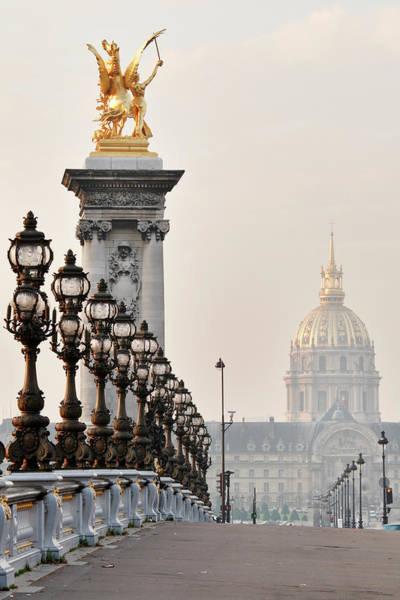 Invalides Photograph - Paris Postcard by S. Greg Panosian