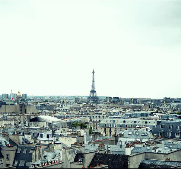 Photograph - Paris Rooftops by Carlo A