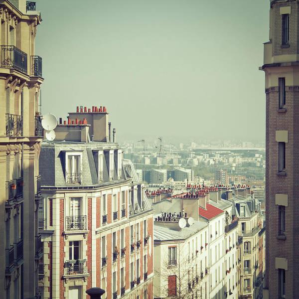 Paris Rooftop Photograph - Paris Rooftops by Kirill Rudenko