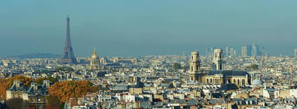 Invalides Photograph - Paris, Saint-sulpice, Eiffel Tower And by Tuul & Bruno Morandi