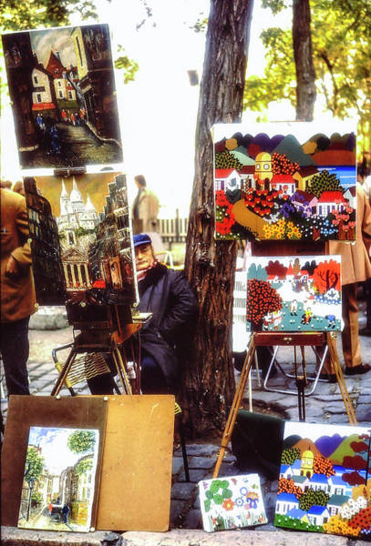 Wall Art - Photograph - Paris Scene 1971 by Alan Toepfer