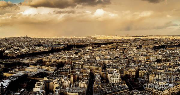 Photograph - Paris Skyline 2 by Miles Whittingham