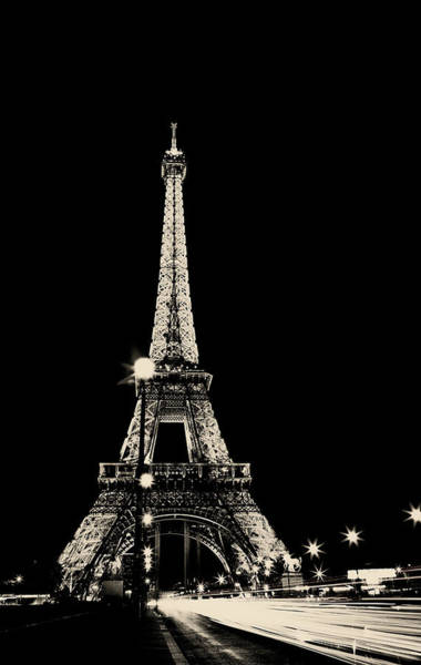 Wall Art - Photograph - Paris, The City Of Lights - Champagne Edition by Kamil Swiatek