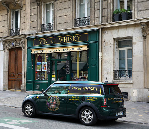 Photograph - Paris Whisky Shop by Andrew Fare
