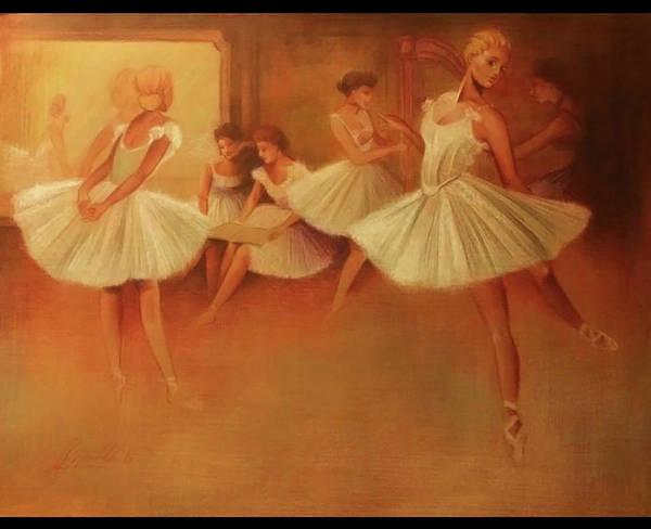 Sfumato Drawing - Parisian Ballet by Richard Remblier