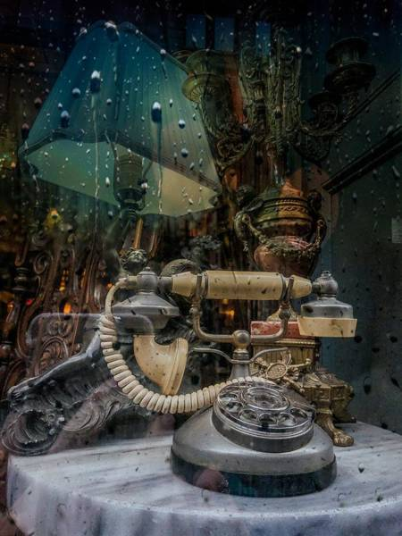 Photograph - Parisian Phone by Cate Franklyn