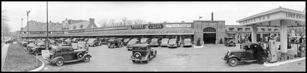 Wall Art - Photograph - Park And Shop Development, Connecticut by Fred Schutz Collection