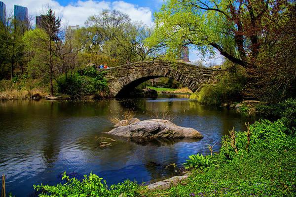 Photograph - Park Bridge2 by Stuart Manning