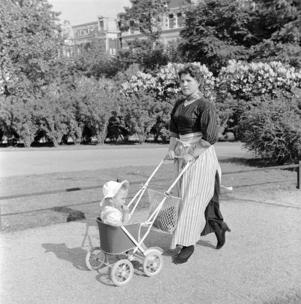 Apron Photograph - Park Pram Ride by Evans