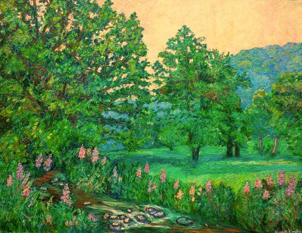 Painting - Park Road In Radford by Kendall Kessler