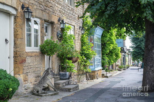 Wall Art - Photograph - Park Street Stow On The Wold In Summer by Tim Gainey