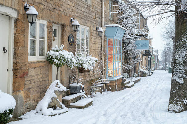 Wall Art - Photograph - Park Street Stow On The Wold In Winter  by Tim Gainey