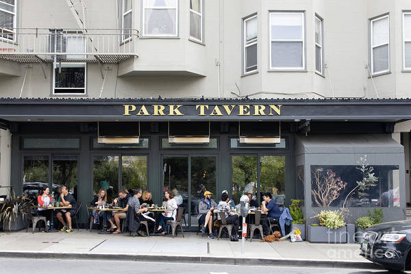 Wall Art - Photograph - Park Tavern Restaurant In North Beach Little Italy San Francisco R145 by Wingsdomain Art and Photography