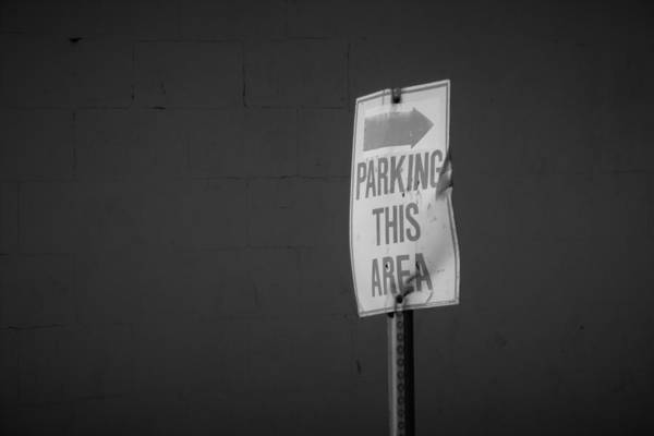 Wall Art - Photograph - Parking by Bill Tomsa